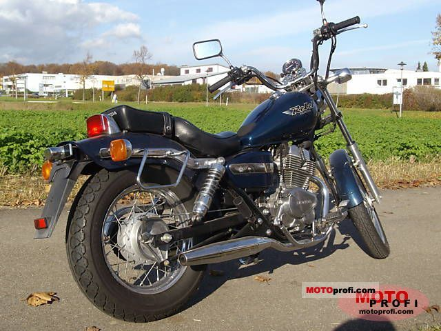 Honda CMX 250 Rebel 1996 photo