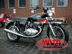 Yamaha TX 750 1973 photo