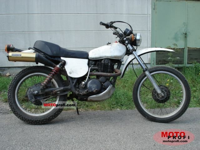 Yamaha XT 500 1977 photo