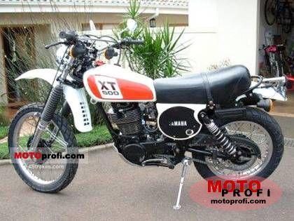Yamaha XT 500 1978 photo
