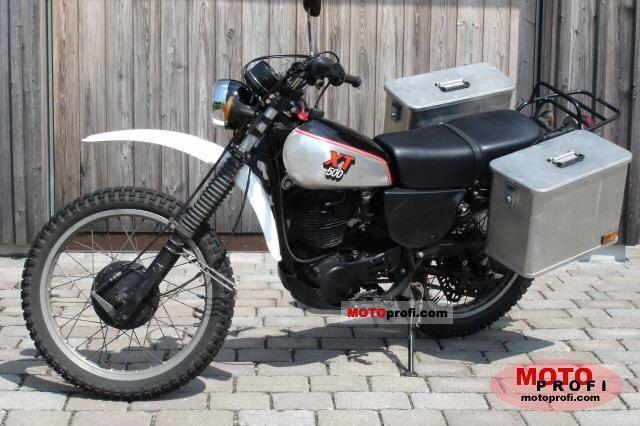 Yamaha XT 500 1982 photo