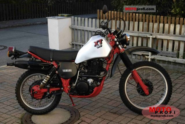 Yamaha XT 500 1984 photo