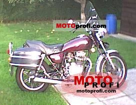 Yamaha XS 400 US. Custom 1980 photo