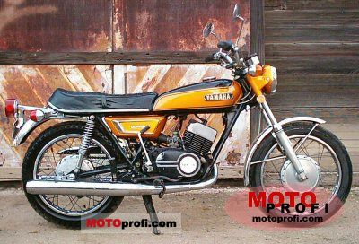 Yamaha DS 7 1972 photo