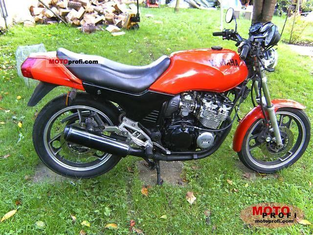 Yamaha XJ 600 1984 photo