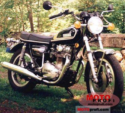 Yamaha XS 650 1975 photo