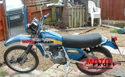 Honda XL 125 1978 photo