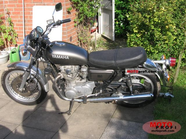 Yamaha XS 650 1977 photo