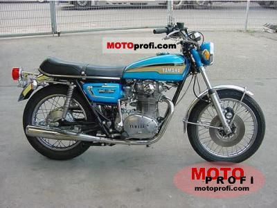 Yamaha XS 2 E 1972 photo