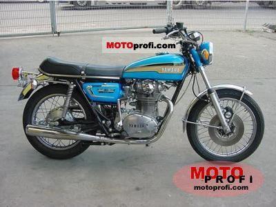 Yamaha XS 2 E 1972 photo