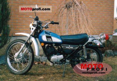 Yamaha DT 175 1975 photo