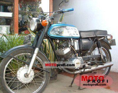 Yamaha YAS 1 1970 photo