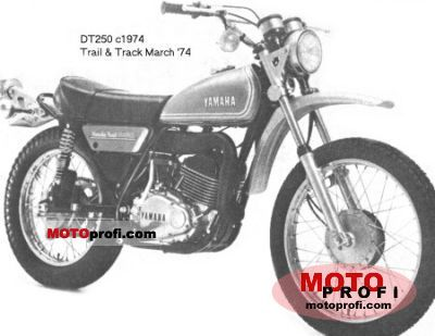Yamaha DT 250 1974 photo