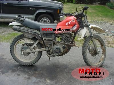 Yamaha XT 550 (reduced effect) 1982 photo