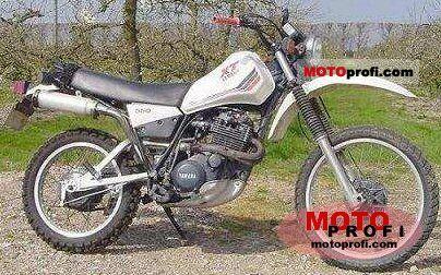 Yamaha XT 550 (reduced effect) 1983 photo