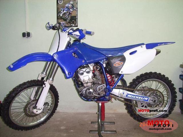 Yamaha YZ 250 F 2002 photo