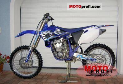 Yamaha YZ 250 F 2005 photo
