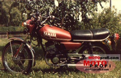 Yamaha RD 125 1974 photo