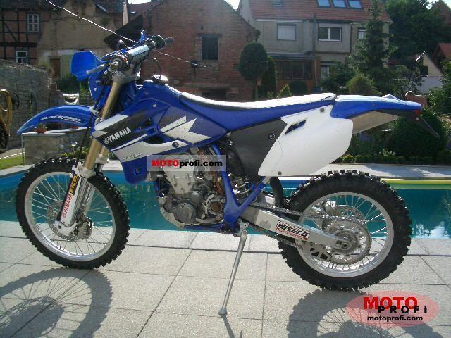 Yamaha WR 450  F 2004 photo