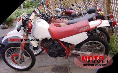Yamaha XT 350 1987 photo