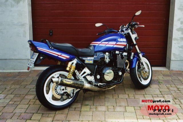 Yamaha XJR 1200 SP 1998 photo