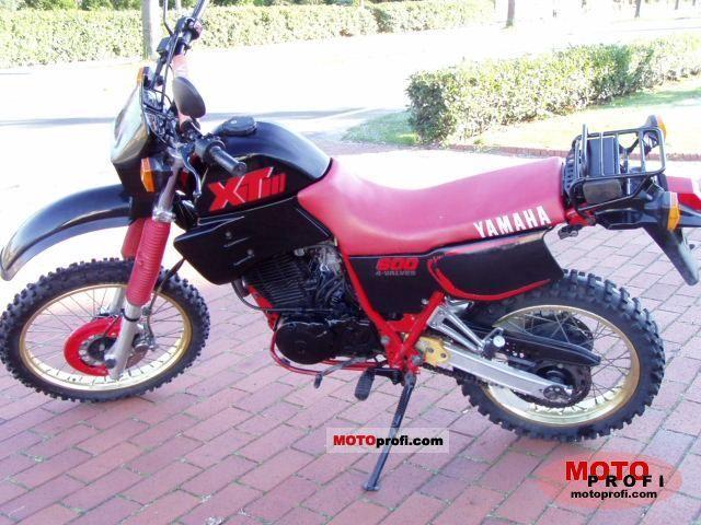 Yamaha XT 600 1987 photo