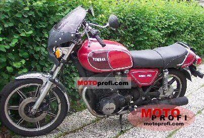Yamaha XS 750 E 1979 photo