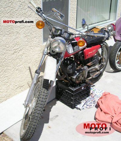 Yamaha DT 125 E 1974 photo