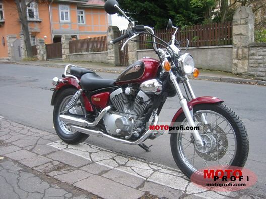 yamaha xv 125 virago 1999 specs and photos. Black Bedroom Furniture Sets. Home Design Ideas