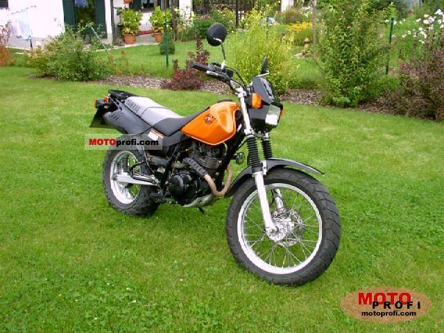 Yamaha TW 125 2000 photo