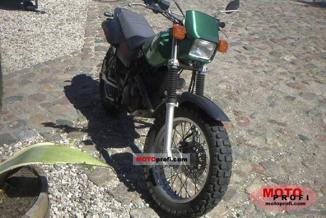 Yamaha TW 125 2001 photo