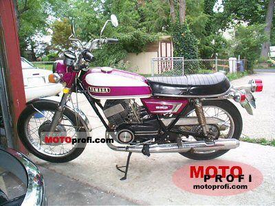 Yamaha R 5 1970 photo