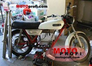 Yamaha R 5 1971 photo
