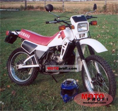 Yamaha DT 125 LC 1983 photo