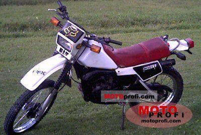Yamaha DT 125 LC 1984 photo