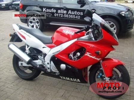 Thundercat Yamaha Review on Yamaha Yzf 600 R Thundercat 1996 Specs And Photos