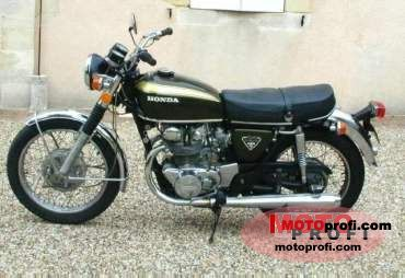 Honda CB 450 disc 1972 photo