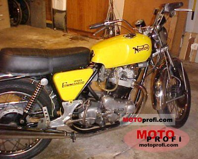 Norton Commando 750 Roadster 1972 photo