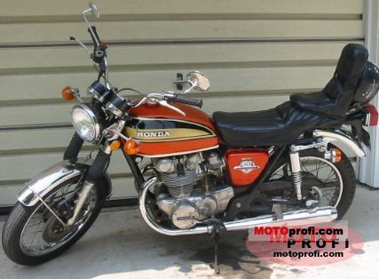Honda CB 450 disc 1974 photo