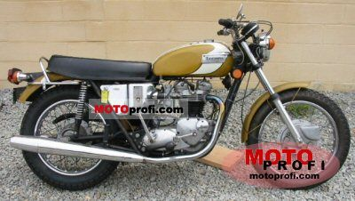 Triumph T 120 V Bonneville 650 1972 photo