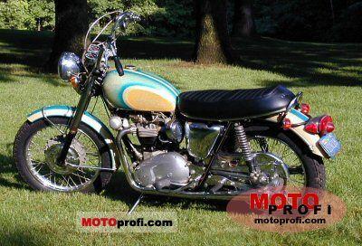 Triumph T 120 R Bonneville 650 1970 photo