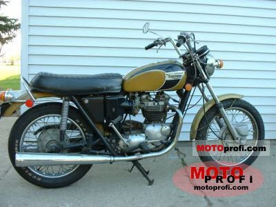 Triumph T 120 R Bonneville 650 1971 photo