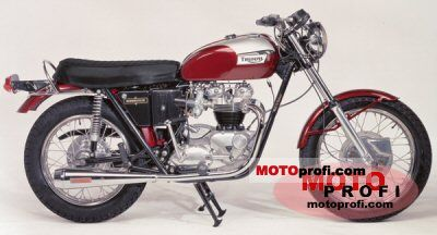Triumph T 120 R Bonneville 650 1972 photo