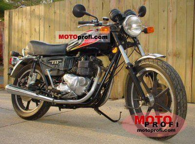 Triumph TSS 1982 photo