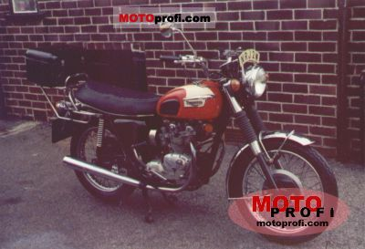 Triumph T 100 R Daytona 1973 photo