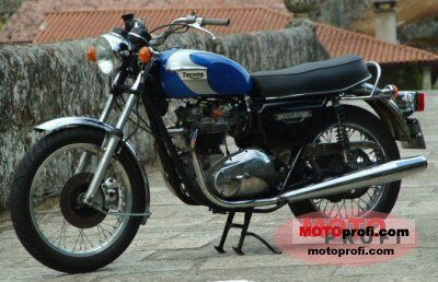 Triumph T 140 V Tiger 1978 photo