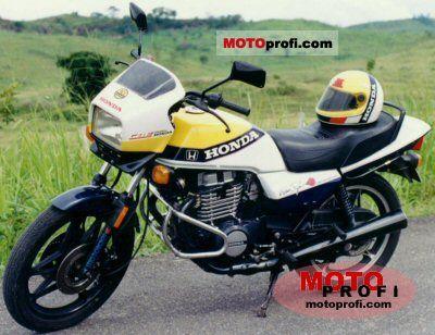 Honda CB 450 S (reduced effect) 1986 photo