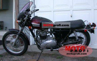 Triumph TR 6 R Tiger 650 1971 photo