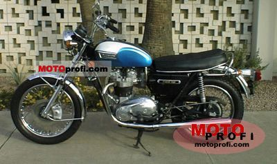 Triumph TR 7 V Tiger 750 1973 photo