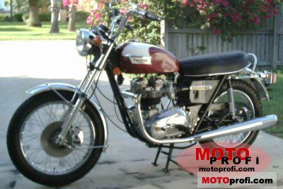Triumph T 140 V Bonneville 1976 photo